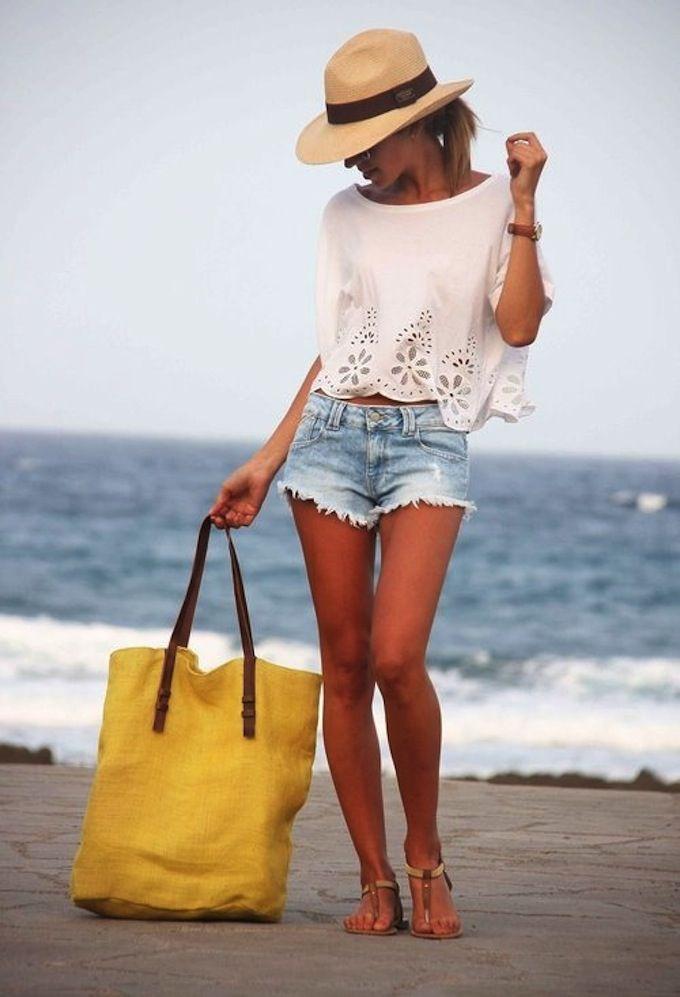 Summer Styling   whiteshirtandjeans.com