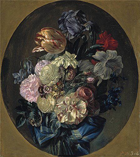 Oil Painting 'Paret Y Alcazar Luis Ramillete De Flores Ca. 1780', 12 x 13 inch / 30 x 34 cm , on High Definition HD canvas prints is for Gifts And Bar, Garage And Hallway Decoration, pop >>> Find out more about the great product at the image link.