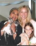 Eartha Kitt, Daughter Kitt McDonald, & granddaughter
