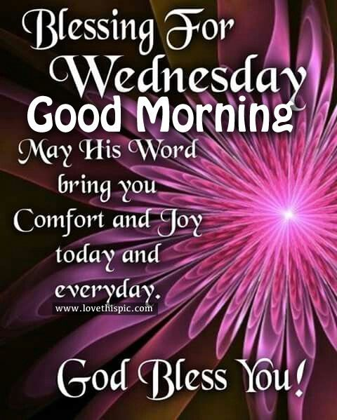 Blessing For Wednesday good morning.  FB 11/16/2016
