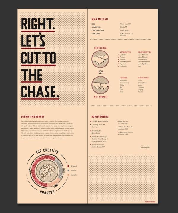 best graphic design resumes
