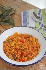 Cocinando entre Olivos: Gurullos con jibia. Receta paso a paso