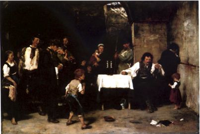 Hungarian National Gallery - Munkacsy Mihaly - The Condemned