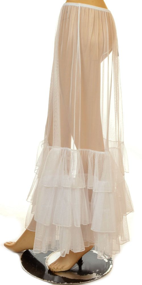 I LOVE this petticoat.   Lissmore Beautiful White Long Lagenlook Petticoat-Lissmore