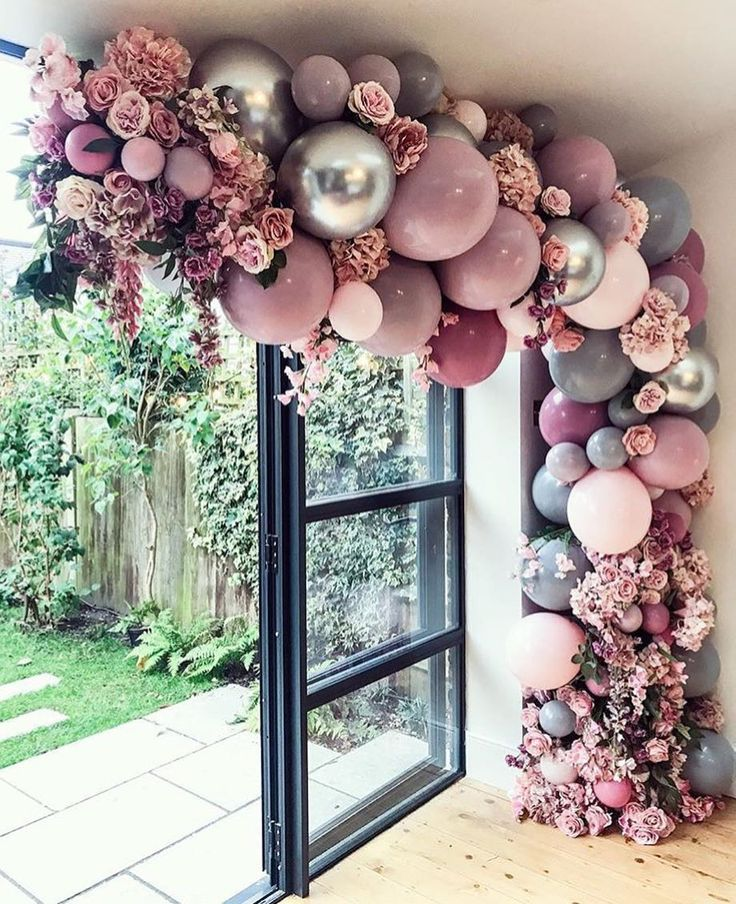 Balloon arch inspo of the day so a great tip for building
