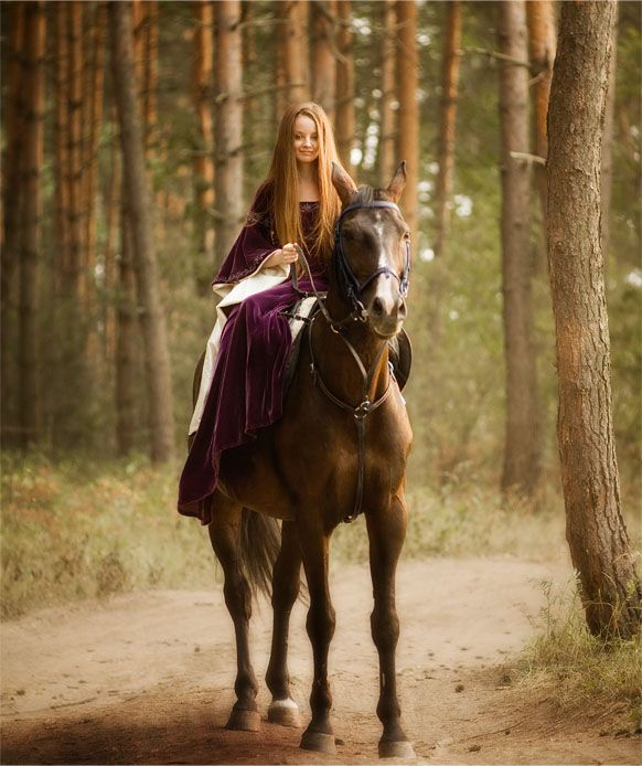 Violet Velvet Medieval Dress 1 by Angirias on Deviant Art