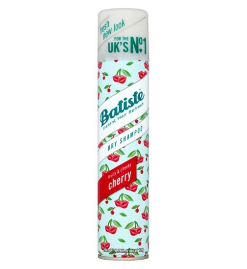 Batiste Dry Shampoo Cherry - Fruity and Cheeky 200ml - Boots