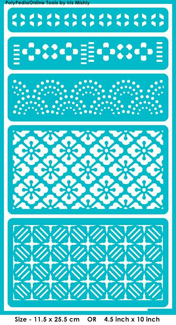 Stencil Stencils Templates Symmetric Patterns por irismishly