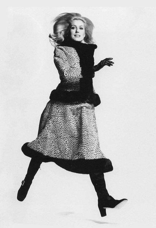 La Deneuve by Francesco Scavullo (1970)