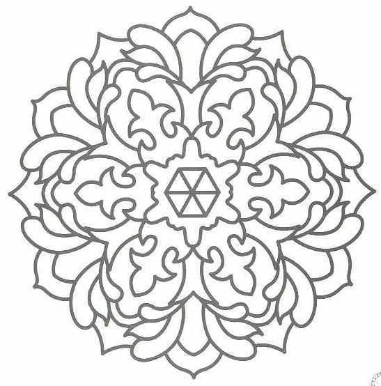 Take A Look At My Free Printable Mandala Collection Mandalas Are Excellent Patterns For Any Kind Of Crafts Do Not Forget Coloring Pages