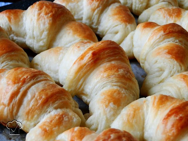 CROISSANTS, Passo a Passo - Desafio Daring Bakers - Setembro / 2011