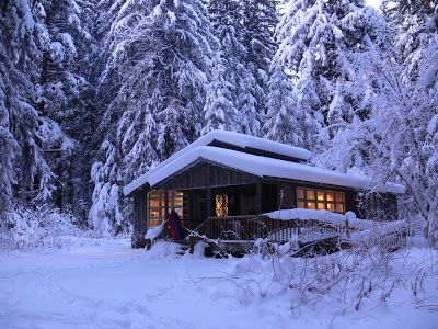 cabin living in Juneau, Alaska...