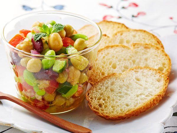 スパイシー豆サラダ                                                                                                                                                     もっと見る
