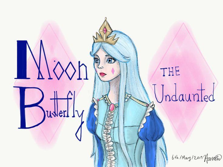 Moon Butterfly the Undaunted -Hamin Min illust