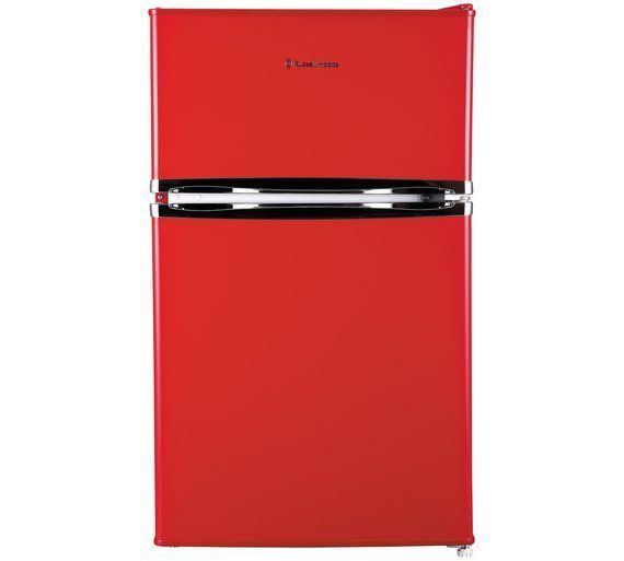 Buy Russell Hobbs RHUCFF50R Under Counter Fridge Freezer - Red at Argos.co.uk, visit Argos.co.uk to shop online for Fridge freezers, Large kitchen appliances, Home and garden #HomeAppliancesFreezers