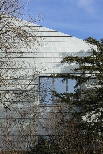Wimbledon College of Art zinc cladding Penoyre & Prasad