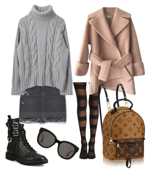 """Untitled #126"" by bee100 on Polyvore featuring Giuseppe Zanotti, MANGO, Carven and Gentle Monster"