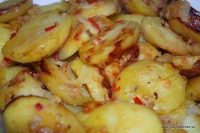 Här kommer lite tips på vad du kan göra med din potatis. Ugnstekt potatis är så gott och enkel att variera. Piffa upp potatisen med chili och vitlök. Busenkelt men så gott! Så här ugnsteker jag oft…