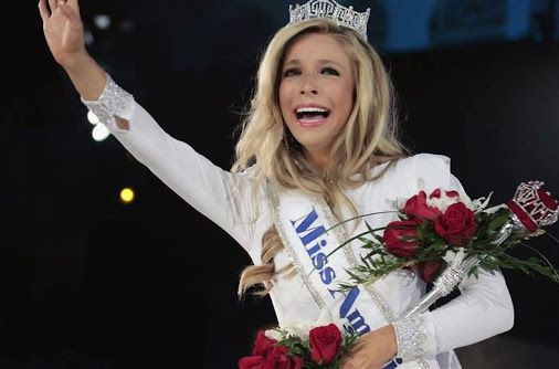 HERE SHE IS...MISS AMERICA...  Miss New York Kira Kazantsev won the Miss America pageant Sunday night at Atlantic City's Boardwalk Hall! Kazantsev is 23 years old and is aspiring to be a lawyer.