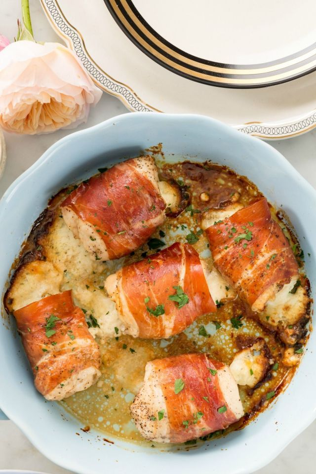 Boursin-Stuffed Chicken Will Heat Up Your V-Day Dinner