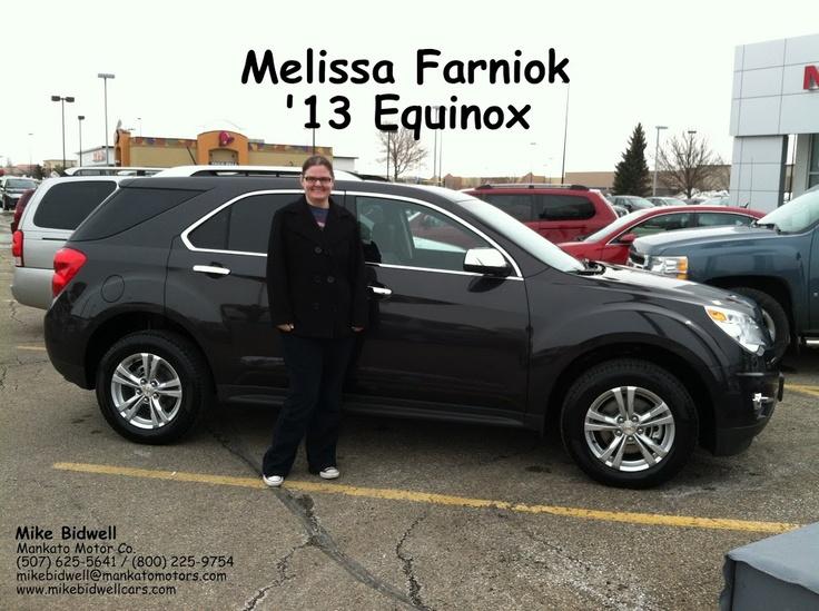 Mike Bidwell Mankato Motors Thanks Melissa For Letting
