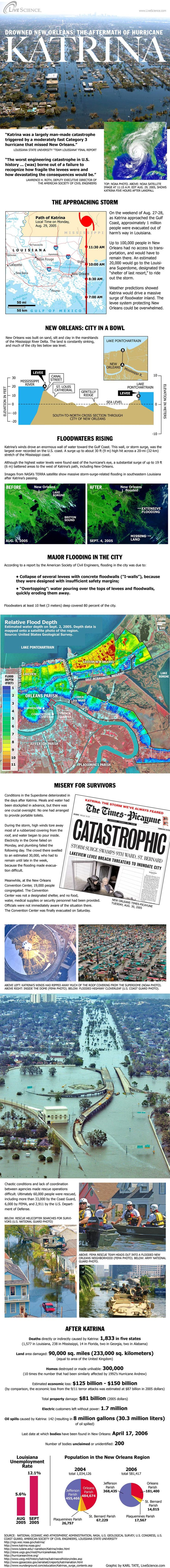 Hurricane Katrina History and Numbers Infographic 36
