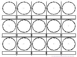 openoffice template for clocks
