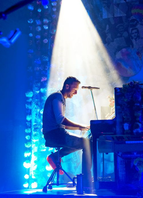 """I definitely believe in God. how can you look at anything and not be overwhelmed by the miraculousness of it?"" Chris Martin"