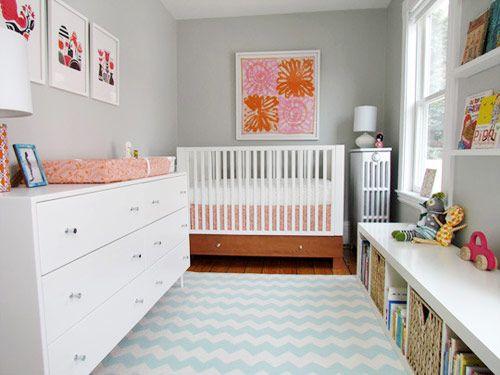 chevron decoração quarto bebê