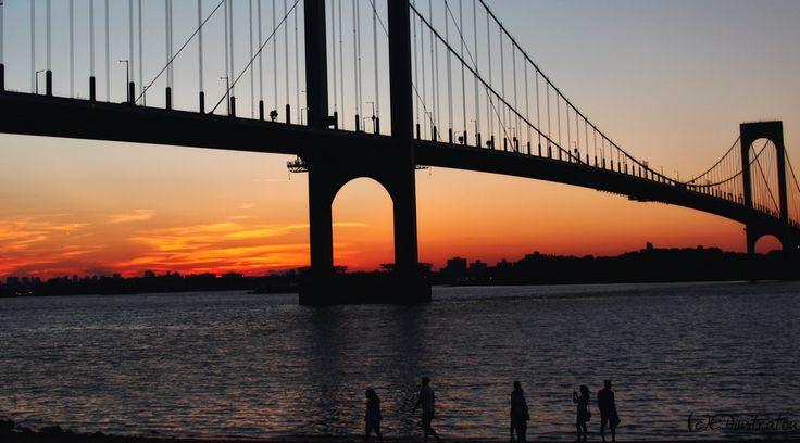 Summer Sunset - Whitestone Bridge, NY