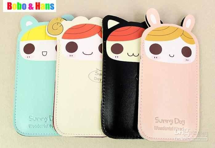 Wholesale /New kawaii girl style pu Mobile phone bag amp; case / mobile pouch for iphone / Fashion /, Free shipping, $2.37-2.96/Piece | DHgate
