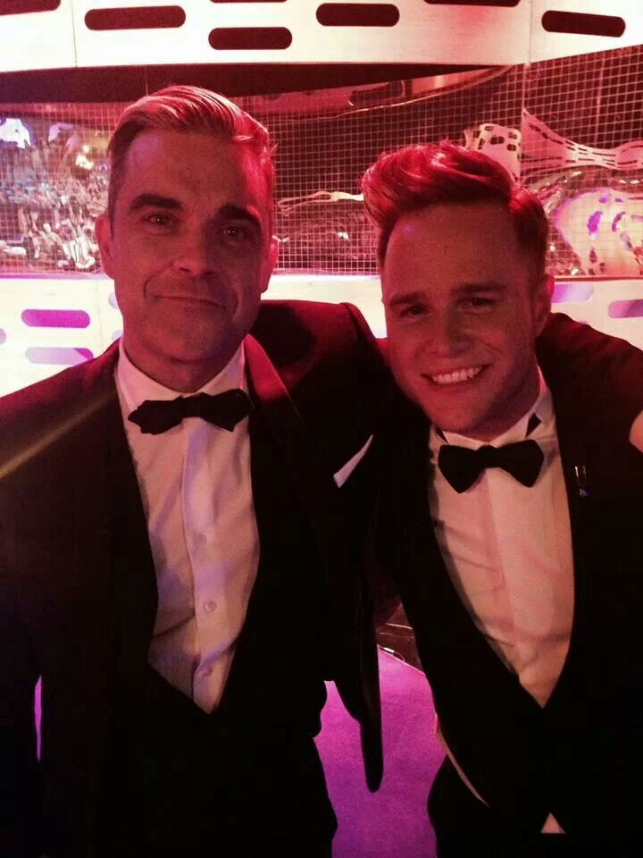 Robbie Williams and Olly Murs - The Graham Norton show- November 22th 2013