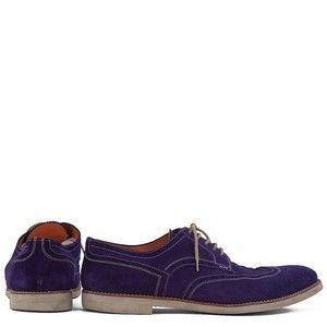 SANTONI men's purple shoes size 44