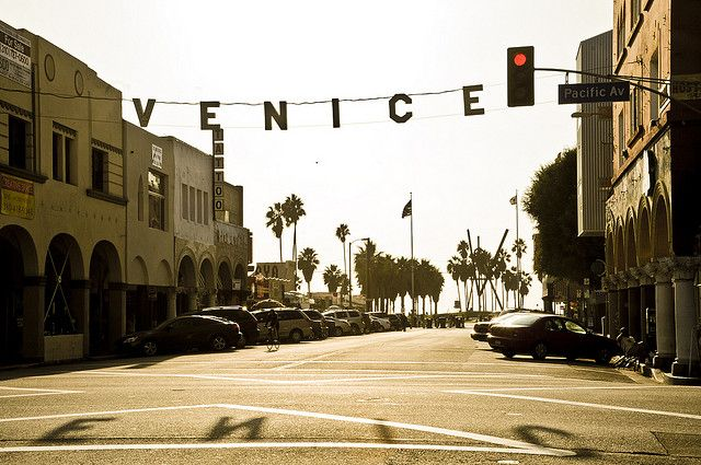 USA / Los Angeles - Venice beach by Manu Foissotte