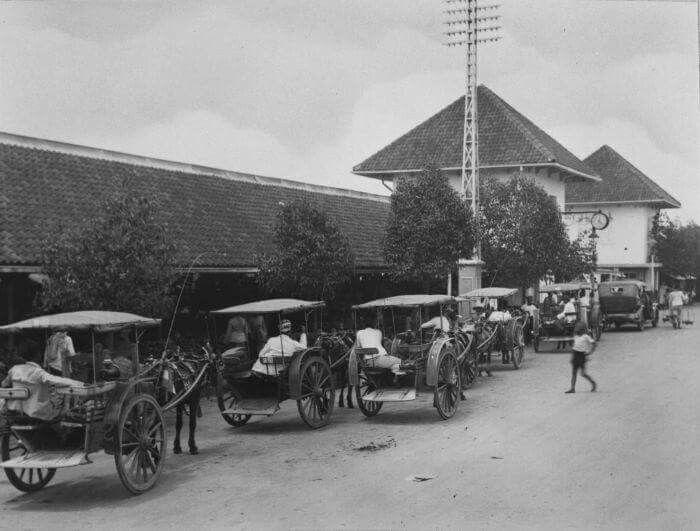 Pasar Wonokromo tahun 1932