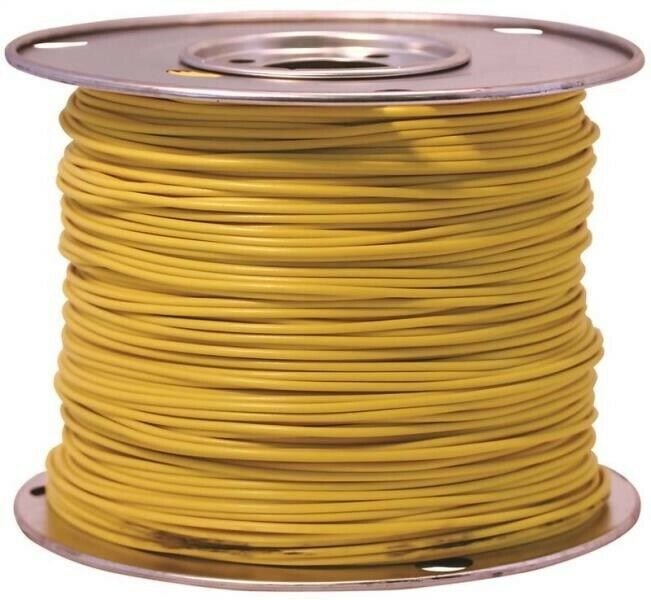 Ebay Sponsored Coleman Cable 55672223 Primary Wire 10 Gauge 100 Yellow Coleman Electrical Maintenance Automotive Care