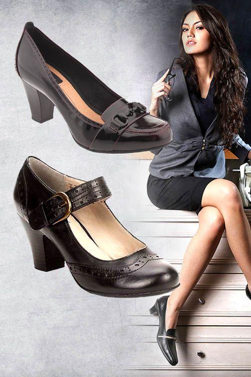 Tips : Inilah Cara Memilih Sepatu Kerja Wanita