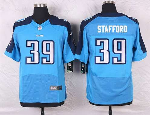 tennessee titans 39 daimion stafford light blue team color nfl nike elite mensu2026