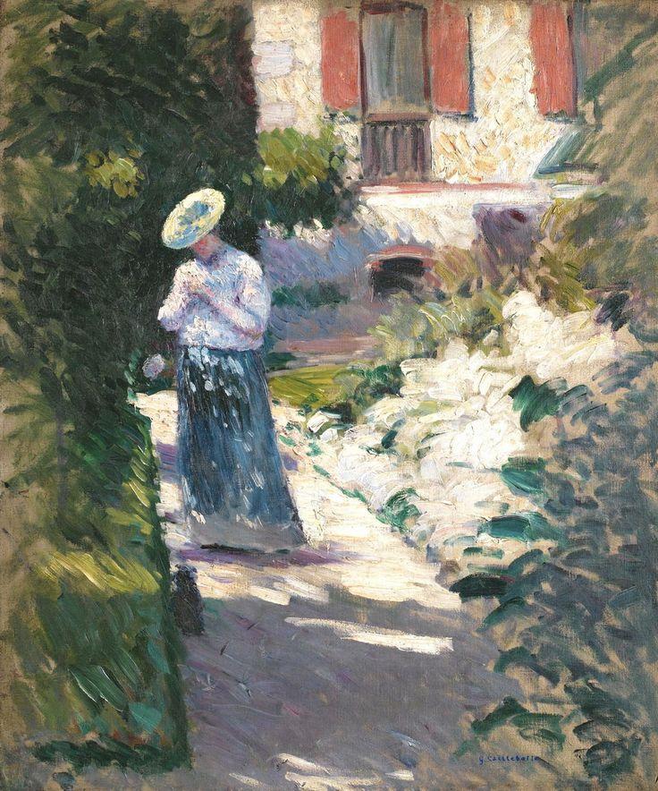 Estudio para Las dalias,jardín de Petit Gennevilliers
