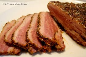 24/7 Low Carb Diner: Home Made Pastrami