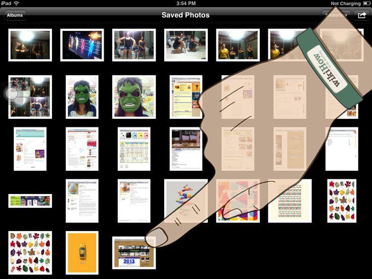 How to Take a Screenshot With an iPad -- via wikiHow.com