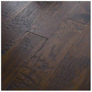 Dark wood laminate floors