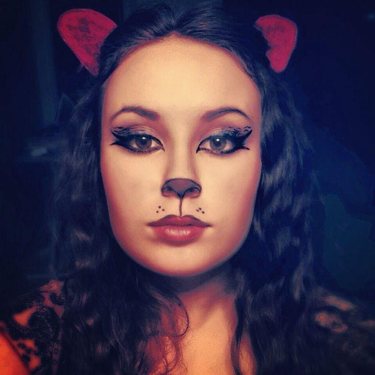 The 25+ best Kitty cat makeup ideas on Pinterest | Simple cat ...