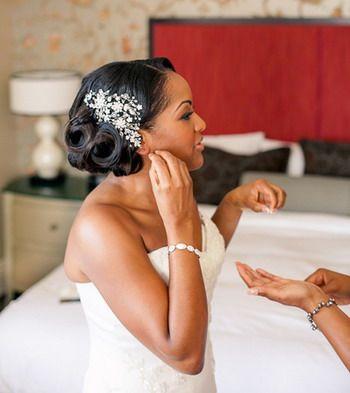 Superb 1000 Ideas About Black Wedding Hairstyles On Pinterest Wedding Short Hairstyles Gunalazisus