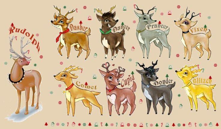 Image result for dancer reindeer