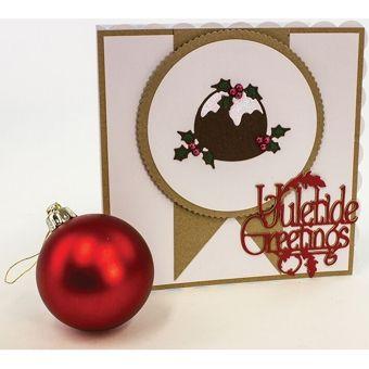 Tonic Studios Rococo Christmas Pud Die Set 3