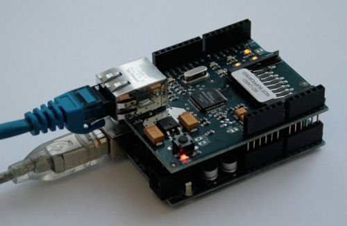 Arduino Uno and Ethernet Shield
