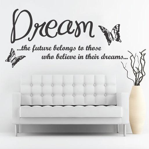 Wall Sticker DREAM by Sticky!!!