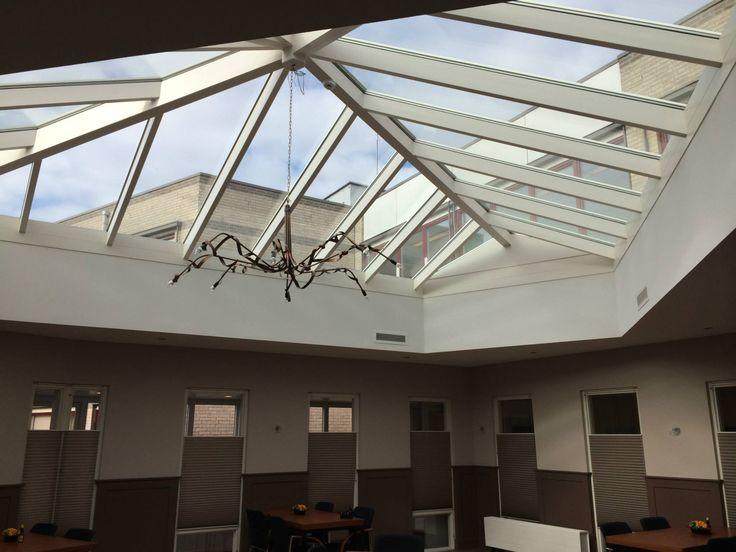 Meer dan 1000 afbeeldingen over glazen daken op pinterest - Glazen dak dak glijdende ...