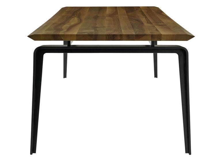 ODESSA Table en noyer by ROSET ITALIA design Mauro Lipparini